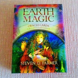 Earth Magic Oracle Cards w/ Guidebook